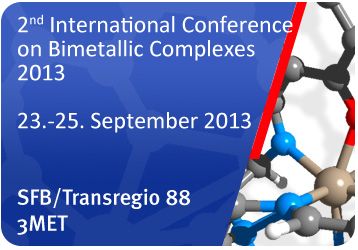 2nd International Conference on Bimetallic Complexes 2013